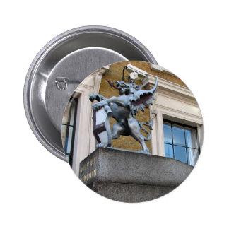 London Gargoyle Button