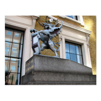 London Gargoyle Postcard