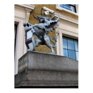London Gargoyle Postcard