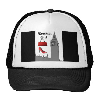 London Girl Big Ben Hat Fashion Cap