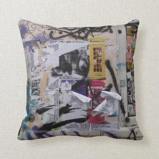 London Graffiti Pillow
