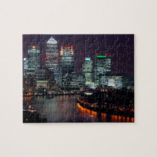 London Great Britain Night View Jigsaw Puzzle
