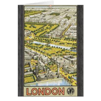London Gwr, Vintage Card