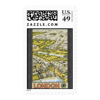 London Gwr, Vintage Stamps