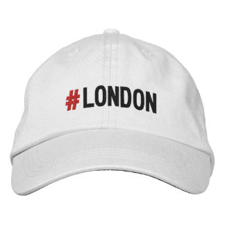 #LONDON Hashtag London Cap/hat Embroidered Baseball Cap