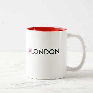 #London Hashtag London Mug