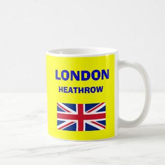 London Heathrow Airport LHR Code Mug