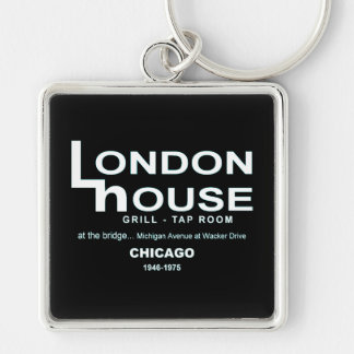 London House Restaurant Club, Chicago, IL Keychain