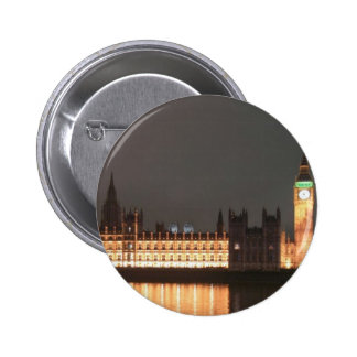 London Houses of Parliament and Big Ben Pins