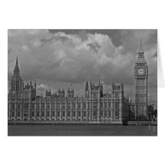 London Houses of Parliament & Big Ben Card