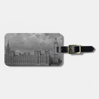 London Houses of Parliament & Big Ben Luggage Tag