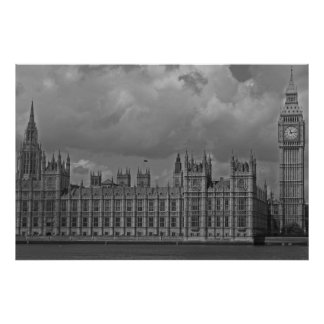 London Houses of Parliament & Big Ben Poster