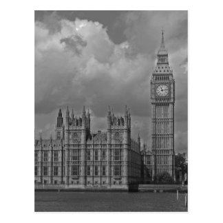 London Houses of Parliament & Big Ben Vertical Postcard