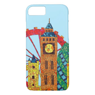 London Icon Building Mozaic iPhone 8/7 Case