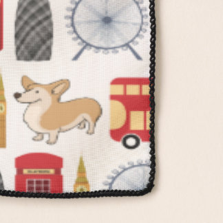 London Icon Collage Scarf