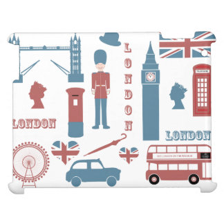 London Icons Retro Love Souvenir ipad case
