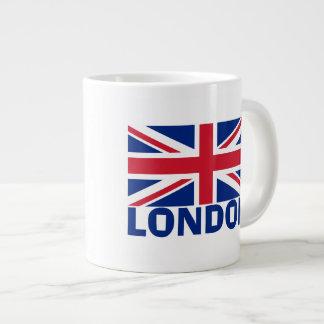 London in Blue Giant Coffee Mug