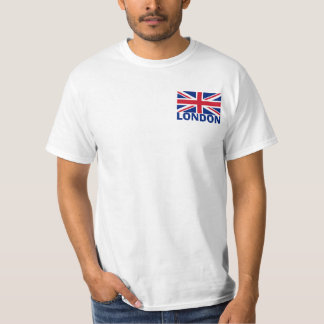 London in Blue T-Shirt
