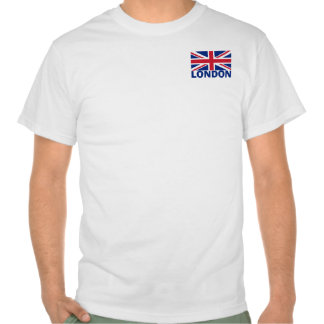 London in Blue Tee Shirts