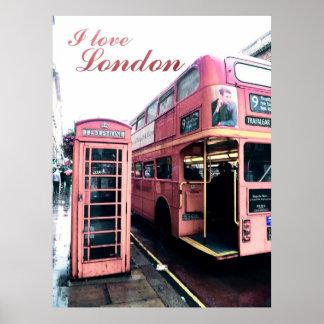 London in Love Poster