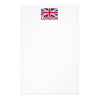 London in Red Stationery