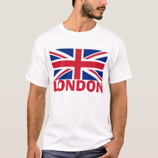 London in Red T-Shirt