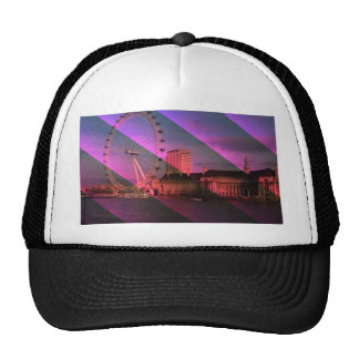 London in Stripes Trucker Hat