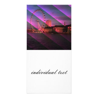 London in Stripes Picture Card