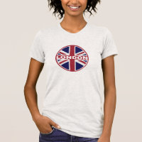LONDON Inspired Flag GRAPHIC Tee