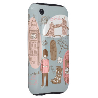 london iPhone 3 tough covers