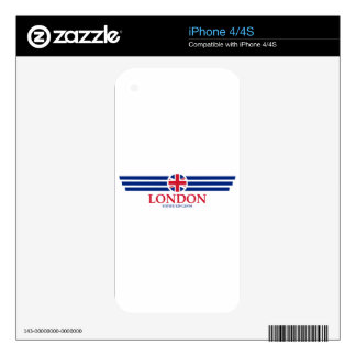 London iPhone 4S Decal