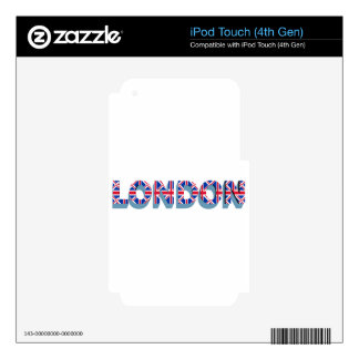 London iPod Touch 4G Skins