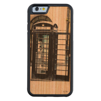London is calling carved® cherry iPhone 6 bumper case
