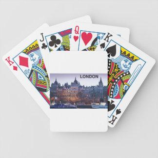 LONDON (Kan.K) Bicycle Playing Cards