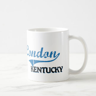 London Kentucky City Classic Classic White Coffee Mug