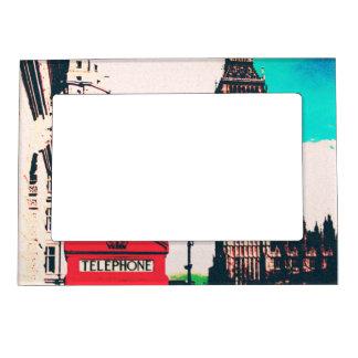 London Landmark Vintage Photo Magnetic Frame