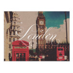 London Landmark Vintage Photo Postcard at Zazzle