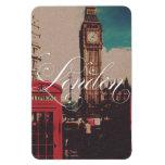 London Landmark Vintage Photo Rectangular Photo Magnet