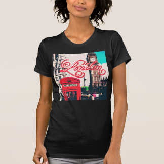 London Landmark Vintage Photo T-Shirt