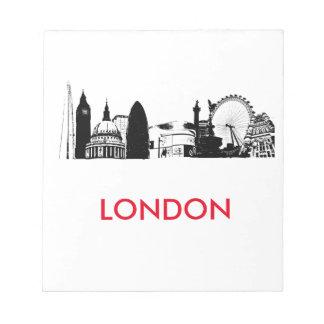 London Landmarks Note Pads
