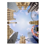 London Landmarks Postcard