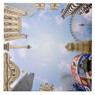 London Landmarks Tile