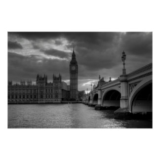 London Landscape Poster