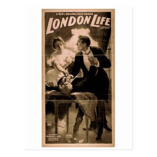 London Life Retro Theater Postcard