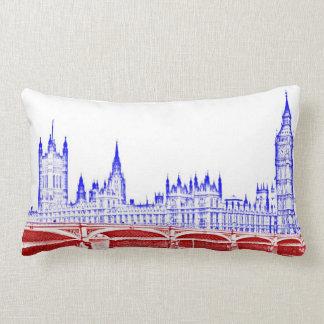 london lumbar pillow