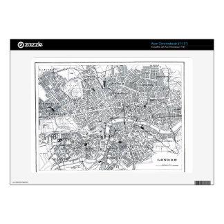 London Map Acer Chromebook Skin