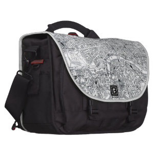 London Map Bag For Laptop