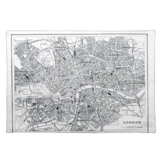 London Map Cloth Placemat