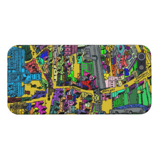 London Map Cover For iPhone SE/5/5s