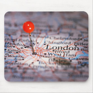 LONDON map Mouse Pad